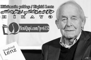 Hökümətin yoldaşı-Ziqfrid Lents-YeniQapi.com--