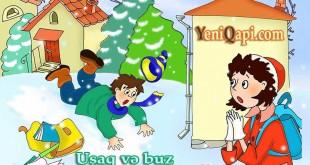 Uşaq şeiri / Uşaq və buz