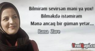 Foto Şeirlər / Rəna Zare 4